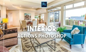 Interior Photoshop Actions