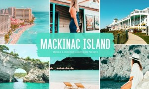 Mackinac Island Mobile & Desktop Lightroom Presets