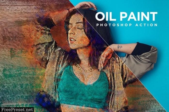 Oil Paint Photoshop Action Kit