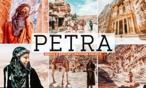 Petra Mobile & Desktop Lightroom Presets