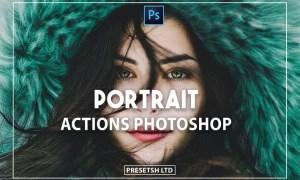 Portrait Photoshop Actions