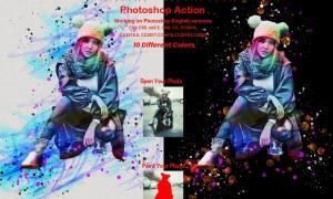 Portrait Watercolor Photoshop Action 5872719