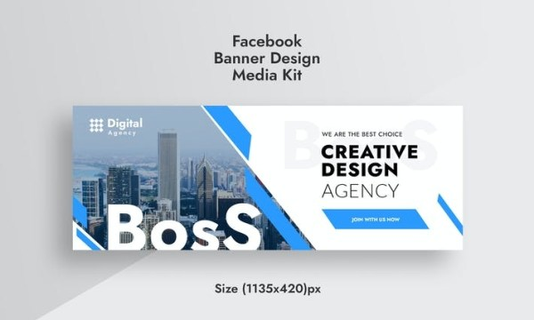 Promotional Digital Agency Facebook Timeline Cover VX5XVNC