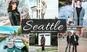 Seattle Mobile & Desktop Lightroom Presets