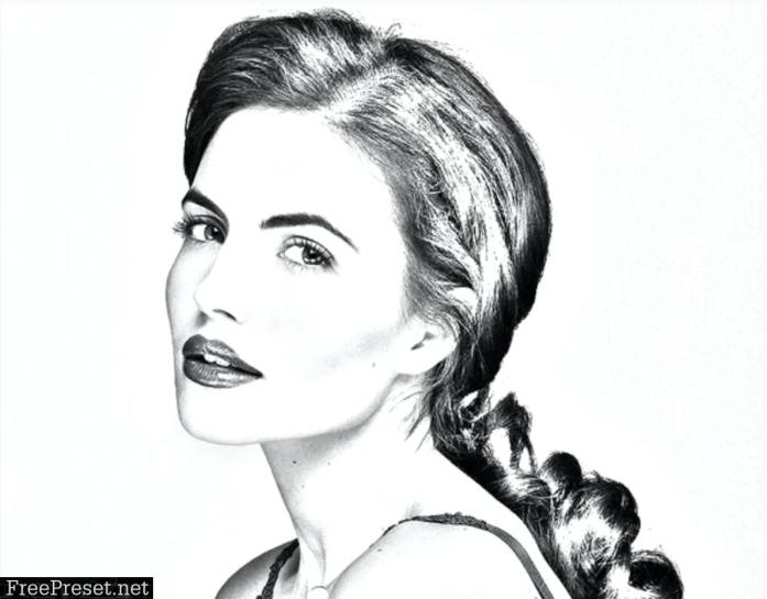 Sketch Art Photoshop Action 30781365