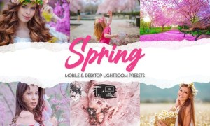 Spring - 15 Premium Lightroom Presets