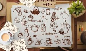 Vintage Coffee Bundle NWAXZF
