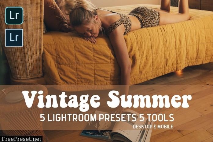 Vintage Summer Lightroom Presets 5045343