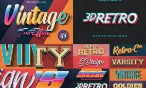 Vintage Text Effects Vol.7 C79SWWV