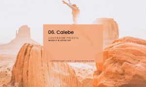 06. Calebe Blogger Presets