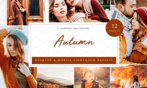 12 x Lightroom Presets, Autumn 5960320