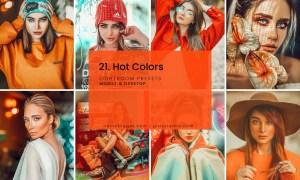 21. Hot Colors Presets
