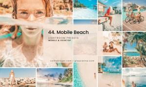 44. Mobile Beach Presets
