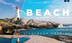 Beach Desktop and Mobile Lightroom Preset