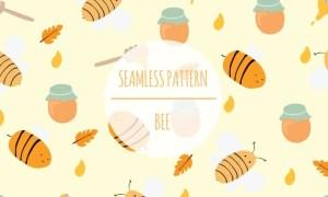 Bee – Seamless Pattern J9DEP2Y