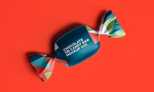 Chocolate or Candy Bar Mockup 005