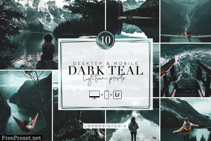 DARK TEAL - Lightroom Presets 5945897