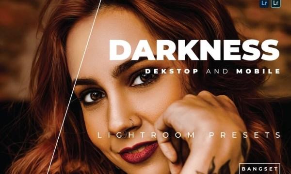 Darkness Desktop and Mobile Lightroom Preset