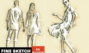 Fine Sketch Photoshop Action