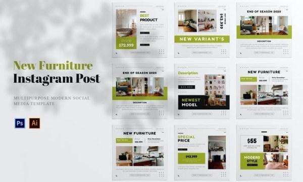 New Furniture Social Media Post HW5B3HJ