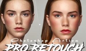 Professional Skin Retouching Photoshop Action