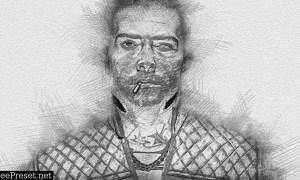 Sketch Portrait - Pencil Photoshop Action 30365021