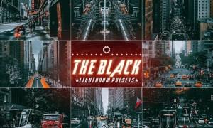 The Black Cinematic lightroom Presets