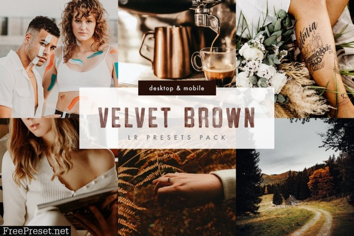 Velvet Brown Lightroom Presets Pack 5999802