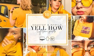 YELL HOW - Lightroom Presets 5945896