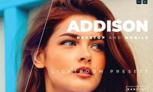 Addison Desktop and Mobile Lightroom Preset