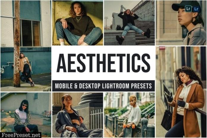 Aesthetics Mobile and Desktop Lightroom Presets