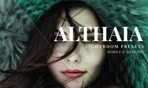 Althaia Mobile and Desktop Lightroom Presets