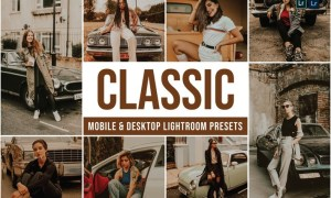 Classic Mobile and Desktop Lightroom Presets