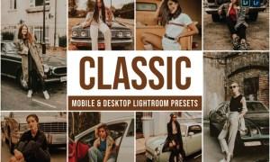Classic Mobile and Desktop Lightroom Presets