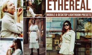 Ethereal Mobile and Desktop Lightroom Presets