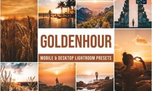 Golden Hour Mobile and Desktop Lightroom Presets