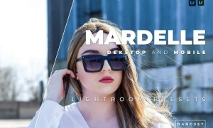 Mardelle Desktop and Mobile Lightroom Preset
