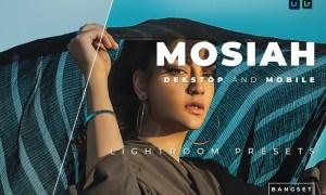 Mosiah Desktop and Mobile Lightroom Preset