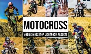 Motocross Mobile and Desktop Lightroom Presets