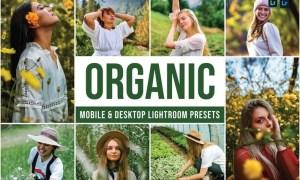 Organic Mobile and Desktop Lightroom Presets