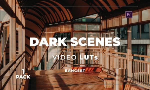 Bangset Dark Scenes Pack 1 Video LUTs