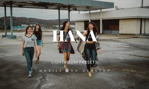 Hana Lightroom Presets Dekstop and Mobile