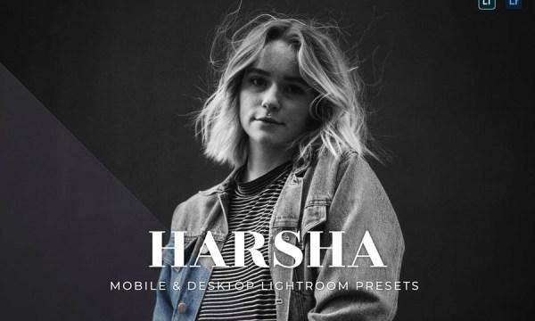 Harsha Mobile and Desktop Lightroom Presets