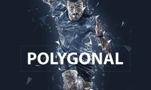 Polygonal Photoshop Action