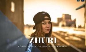 Zhuri Mobile and Desktop Lightroom Presets