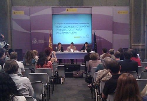"""Lanzamiento de la campaña """"Luchemos contra la discriminación"""""""
