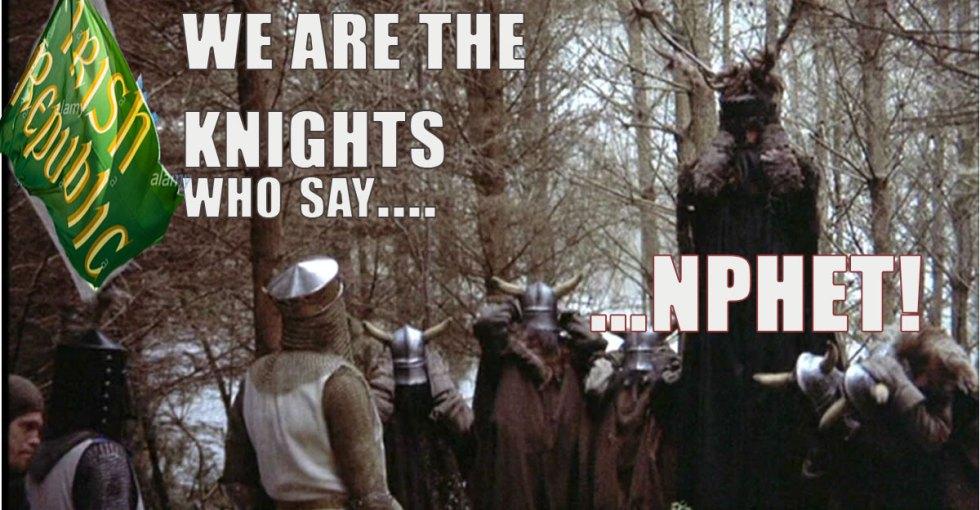 nphet lockdowns covid knights