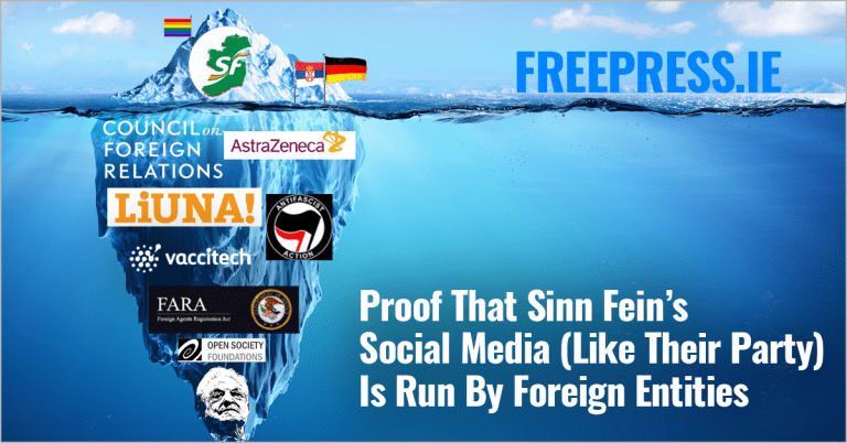 Sinn Fein Facebook Germany