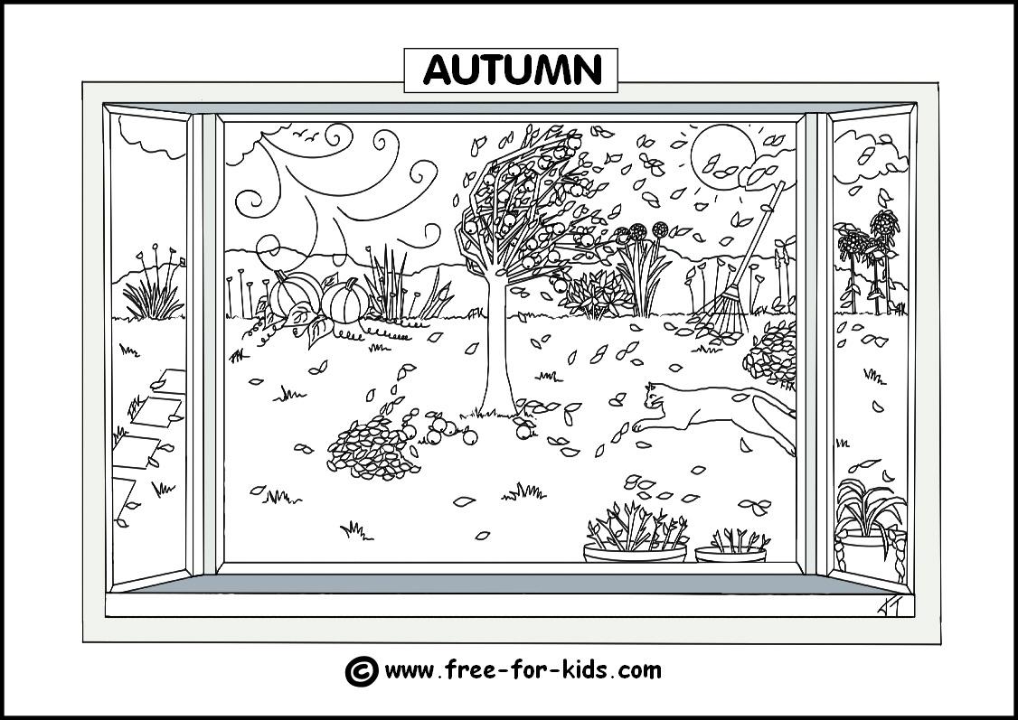 Four Seasons Poster Worksheet