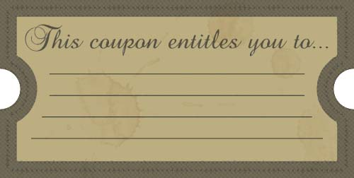 Make Your Own Meal Tickets
